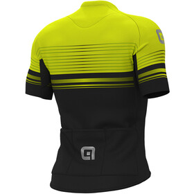 Alé Cycling Graphics PRR Slide SS Jersey Herre black/fluo yellow